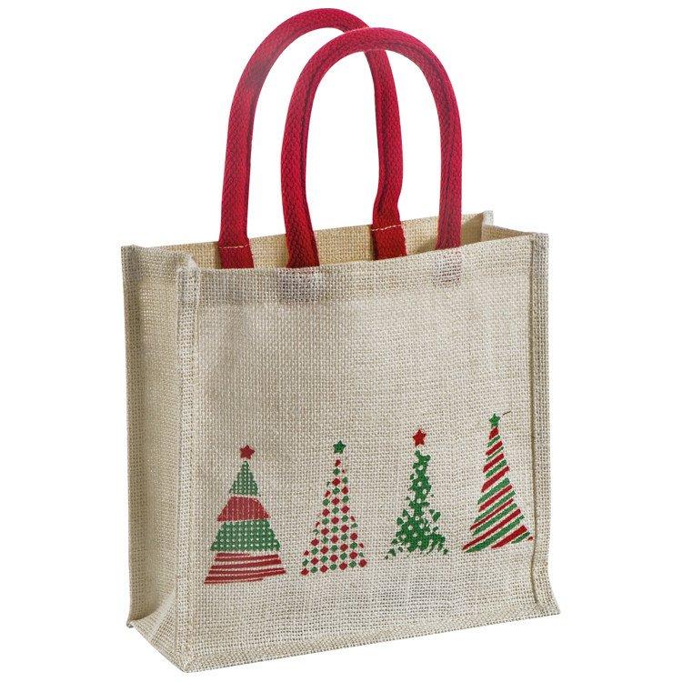 jute taschen Weihnachten