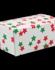 Ballotin Weihnachten mit Sternen 250 oder 500 Gramm