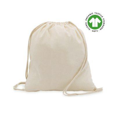 50 Stück Baumwollrucksäcke Ökologisch 37x41cm 100% Baumwolle