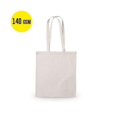 50 Stück Baumwoll Tragetasche 140 Gramm Qualität, Größe 37x41cm